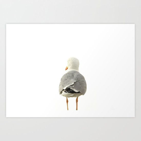 THE PIGEON Art Print