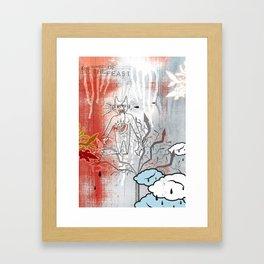 Thunderstruck No. 3 Framed Art Print