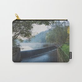 deep hayes country park waterfall Carry-All Pouch
