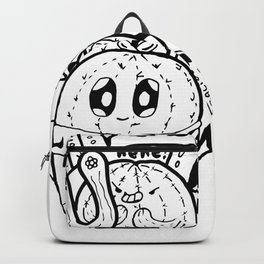 Cactus Love Easy Doodle funny faces Backpack