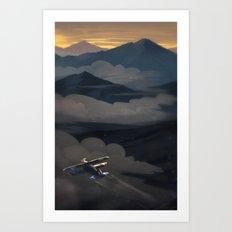 Earth Beneath Art Print