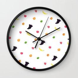 Fruit Salad Wall Clock