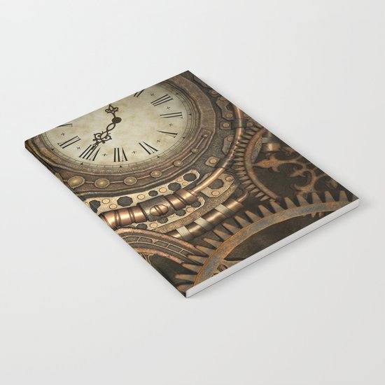 Steampunk Clockwork Notebook