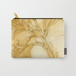 """Andrea del Verrocchio """"A lily"""" Carry-All Pouch"""