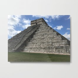 Mexico chichen itza Metal Print
