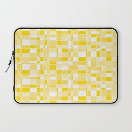 Mod Gingham - Yellow Laptop Sleeve