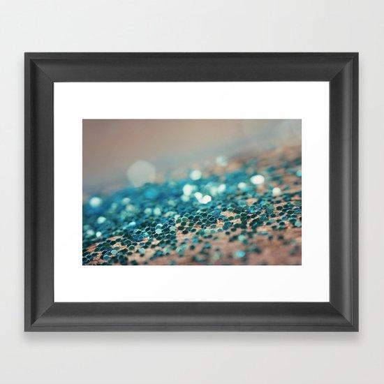 Sprinkled with Sparkle Framed Art Print