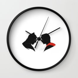 Night vs Day Wall Clock