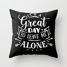 antisocial, antisocial introvert, antisocial anti-social Throw Pillow