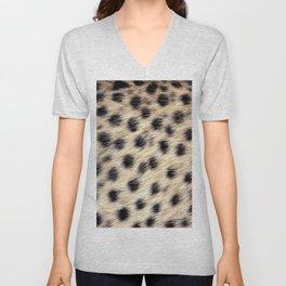Cheetah Pattern Style Unisex V-Neck