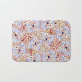 Summer Blossoms - YoungEun Kwon  Bath Mat