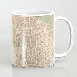 Vintage Map of Washington DC (1892) Coffee Mug
