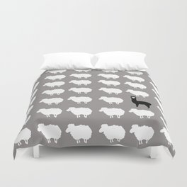 Don't be a sheep, Be a Llama Duvet Cover