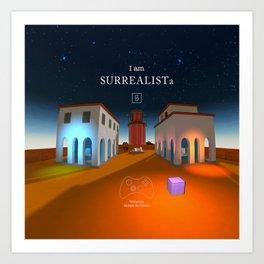 SURREALISTa Art Print