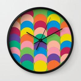 superimposed circles Wall Clock