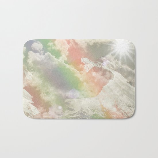 Mountains in The Sky Bath Mat