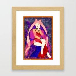 Sailor Moon - The Black Lady/Queen Framed Art Print
