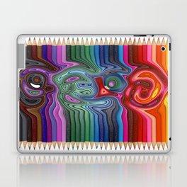 Twisted Pencils Laptop & iPad Skin