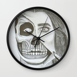 Unmasked Wall Clock