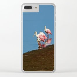 Stacking Up the Memories Clear iPhone Case