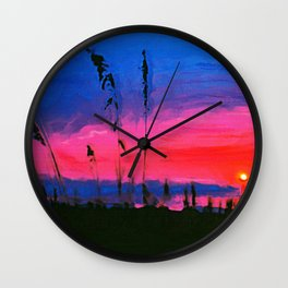 MARY'S VIEW Wall Clock