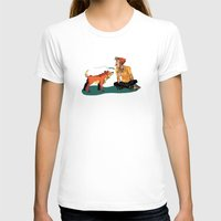 musa T-shirts featuring pet the dog by musa