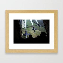 Breitling Jet Team pass Framed Art Print
