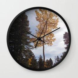 Colorado Aspen Wall Clock
