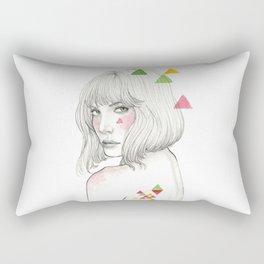 Color geometry Rectangular Pillow
