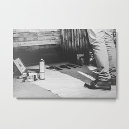 BLANK Metal Print