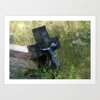 jesus Art Prints featuring Jesus by LoRo  Art & Pictures