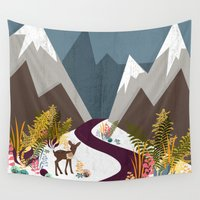 dorothy Wall Tapestries featuring November by Kakel