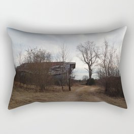 Abandoned Barn Rectangular Pillow