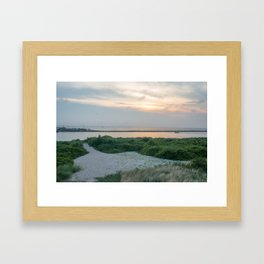Inlet Framed Art Print