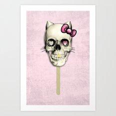 Kit N Cat Art Print