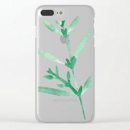 Leaf Series Clear iPhone Case