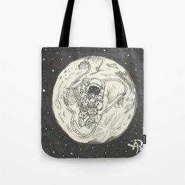 Moon's son Tote Bag