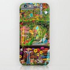 The Secret Garden Book Shelf Slim Case iPhone 6