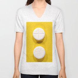 Yellow Rohypnol Unisex V-Neck