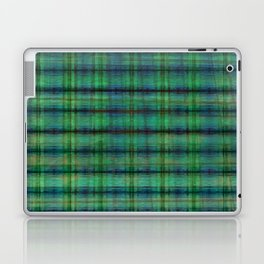 Forest Straw Plaid On Frozen Lake Laptop & iPad Skin