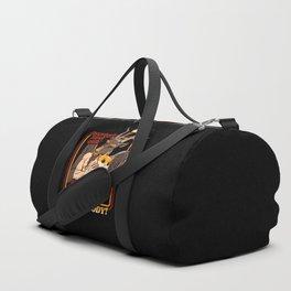 Everybody Loves Cat Even Satan Duffle Bag