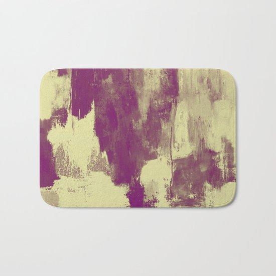 Textured Purple Bath Mat