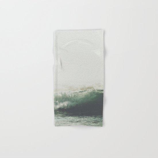 Into the waves VI Hand & Bath Towel