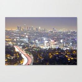 Hollywood Bowl Overlook Canvas Print