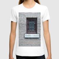 window T-shirts featuring Window by Marieken