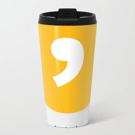 Apostrophe Metal Travel Mug