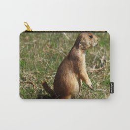 Black-tailed Prairie Dog Pose Carry-All Pouch