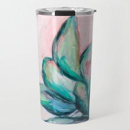 Painterly Plant Travel Mug