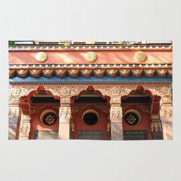 Main entrance tibet decoration ornaments. Rug