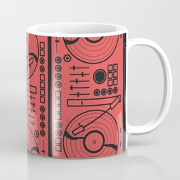 Music Vinyl Record Player Coffee Mug